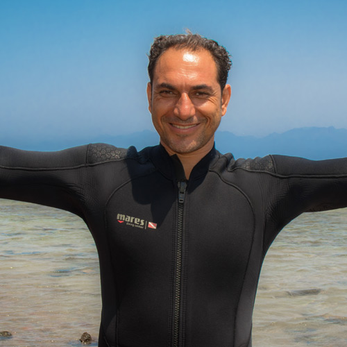 Badr Dive Instructor and Owner